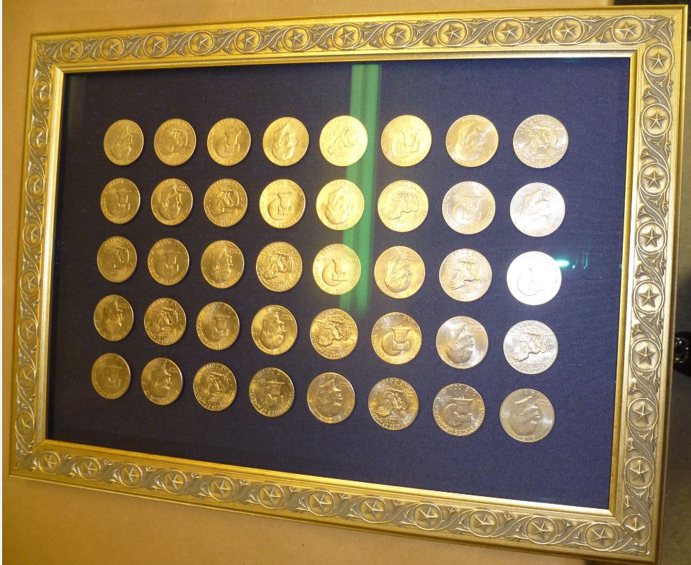 Coins Showcased — Framing Collectibles – Fastframe Houston Picture ...